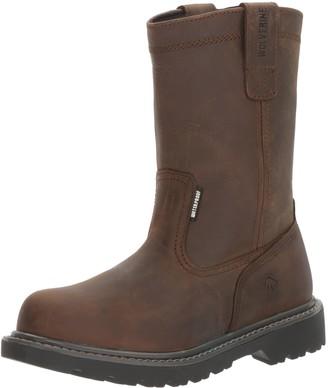 "Wolverine Women's Floorhand Waterproof 10"" Steel Toe Work Boot"