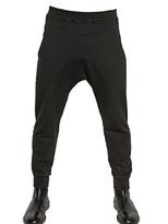 Neil Barrett Cotton Wool Jersey Trousers