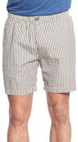 Vintage 1946 Seersucker Shorts