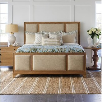 Barclay Butera Newport Upholstered Standard Bed Color: Sandstone, Size: California King