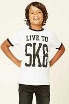 Forever 21 FOREVER 21+ Boys Live To Sk8 (Kids)