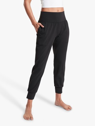 Athleta Salutation Powervita Joggers, Black