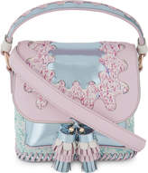 Sophia Webster Ladies Pink Round Feminine Claudie Wiggle Cross-Body Bag