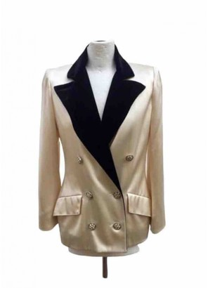 Jean Louis Scherrer Jean-louis Scherrer Beige Jacket for Women Vintage