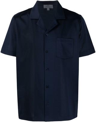 Canali Short-Sleeve Shirt