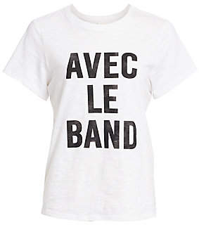Cinq à Sept Women's With The Band Short-Sleeve Tee