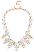INC International Concepts M. Haskell for Crystal Oval Clusters Statement Necklace, Only at Macy's