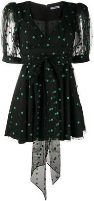 Parlor Flared Polka Dot Dress