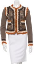 Tory Burch Printed Evening Jacket