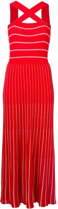 Sonia Rykiel Ribbed Knit Maxi Dress