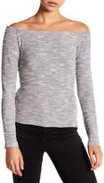 Nicole Miller Off-the-Shoulder Knit Blouse
