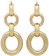 Laura Lombardi Gold Portrait Earrings