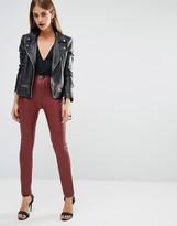 Boohoo Leather Look Pant