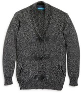 Andy & Evan Boys' Marled Toggle Cardigan - Sizes 2-7