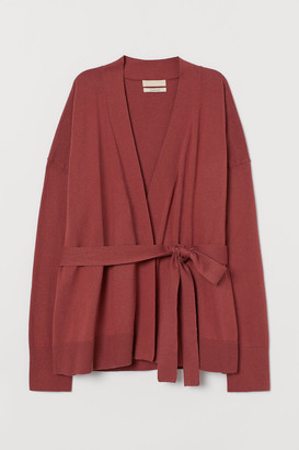 H&M Cashmere-blend Cardigan - Red