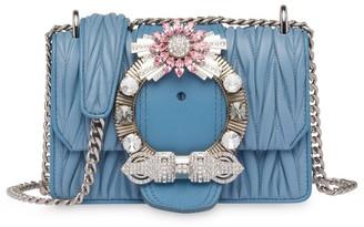 Miu Miu Lady quilted shoulder bag