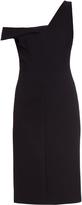 Balenciaga Off-the-shoulder crepe dress