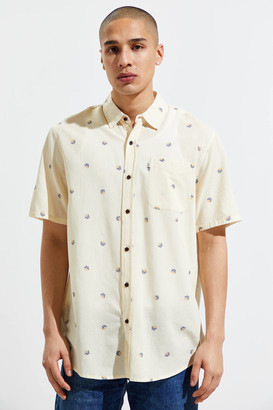 Katin Floral Dot Short Sleeve Button-Down Shirt