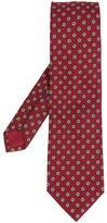 Simeone Napoli floral print tie
