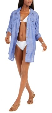 Thumbnail for your product : Dotti Travel Muse Shirtdress Cover-Up Women's Swimsuit