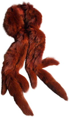 Plein Sud Jeans Orange Fox Scarves