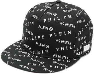 Philipp Plein all over logo baseball cap