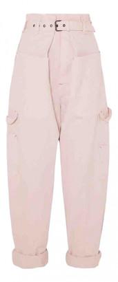 Isabel Marant Pink Denim - Jeans Jeans