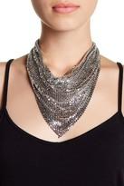 Natasha Accessories Drape Sequin Necklace
