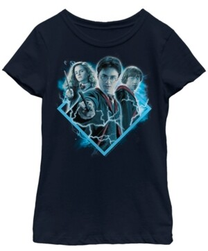 Fifth Sun Harry Potter Big Girl's The Half-Blood Prince The Trio Poster Short Sleeve T-Shirt
