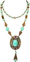 One Kings Lane Vintage 1920s Czech Peking Glass Long Necklace