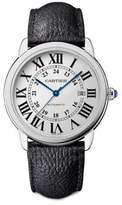 Cartier Automatic Leather Strap Watch