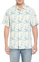 Tommy Bahama Forest Print Silk Sport Shirt