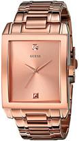 GUESS U0102G2 Rectangular Diamond Watch