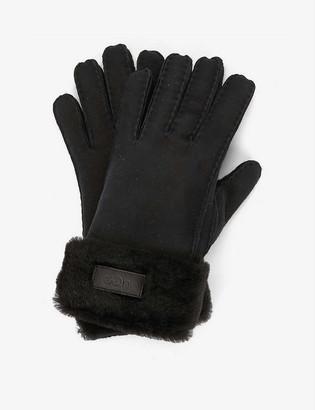 UGG Turn Cuff shearling gloves