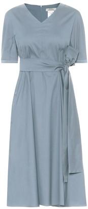 S Max Mara Lea cotton-blend midi dress