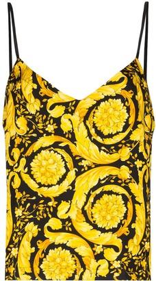 Versace Baroque print cami top