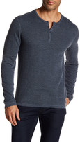 John Varvatos Long Sleeve Henley Pullover
