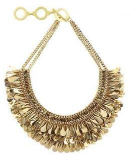Forest of Chintz The Great Gold Glitzy Necklace