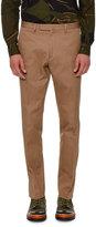 Valentino Rockstud Untitled Chino Trousers, Beige