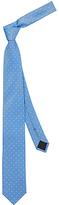 HUGO BOSS HUGO by Dot Silk Woven Tie, Sky Blue