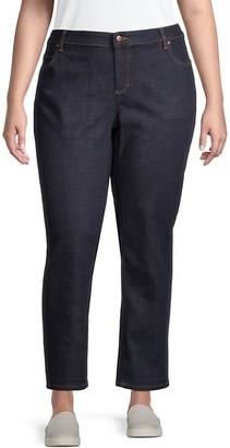 Eileen Fisher Plus Boyfriend Jeans
