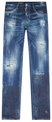 DSQUARED2 Cool Guy Distressed Slim Jeans