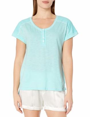 Karen Neuburger Women's Pajama Lounge Top Short Sleeve T-Shirt Pj