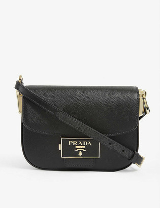 Prada Emblem leather cross-body bag