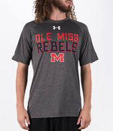 Under Armour Men's Ole Miss Runnin Rebels College Wordmark T-Shirt