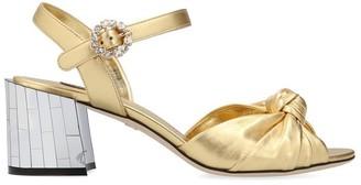 Dolce & Gabbana Mordore Embellished Strap Sandals