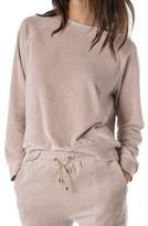Rag Doll Women's Ragdoll Velour Lounge Sweatshirt