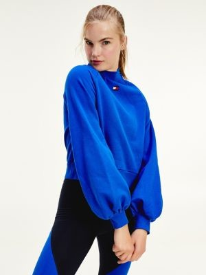 Tommy Hilfiger Boyfriend Fit Bell Sleeve Sweatshirt