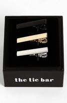 The Tie Bar Men's Brass Tie Bar (3-Pack)