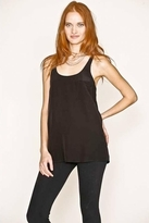 Joie Vanna T-Back Pocket Tank in Caviar